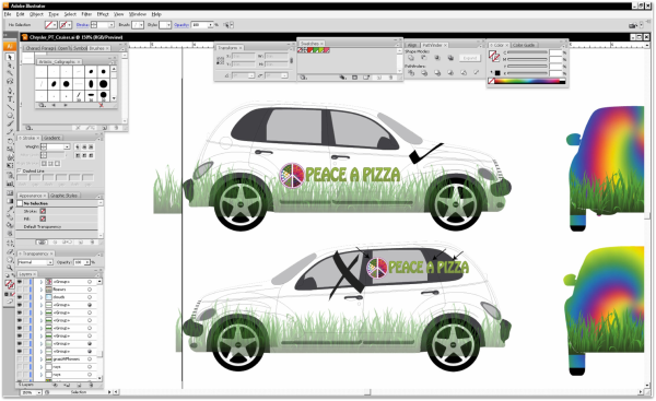 Graphic Designer Resource Guide to Vehicle Wraps – Vehicle Wrap Templates