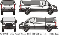 ford transit connect vehicle outlines. Black Bedroom Furniture Sets. Home Design Ideas