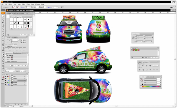 So You Want To Be A Vehicle Wrap Designer A Design Resource Guide – Vehicle Wrap Templates