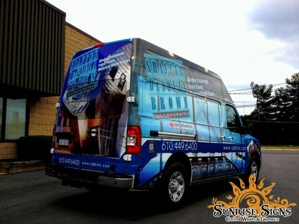 Contract Van Advertising Graphics
