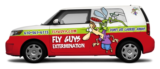 pest control car wrap