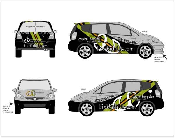 car wraps or car graphics put your ideas in motion