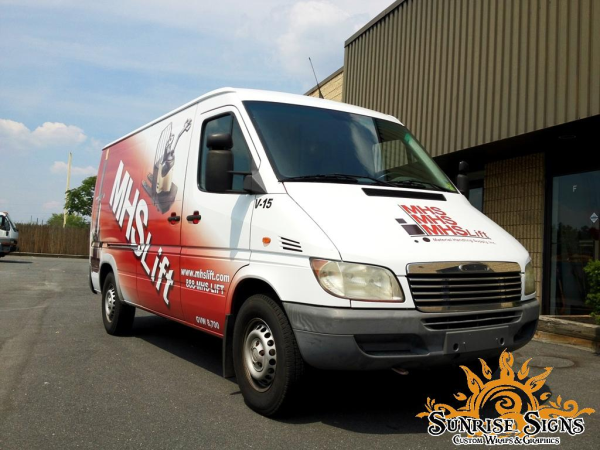 Fleet Sprinter Van wraps