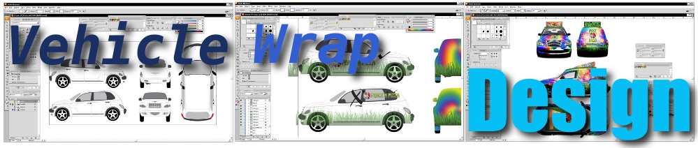 vehicle wrap design cropped