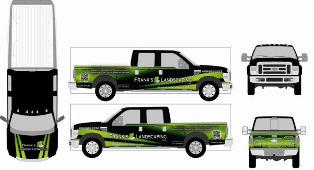 How to Design Your Own Truck Graphics – Vehicle Wrap Templates