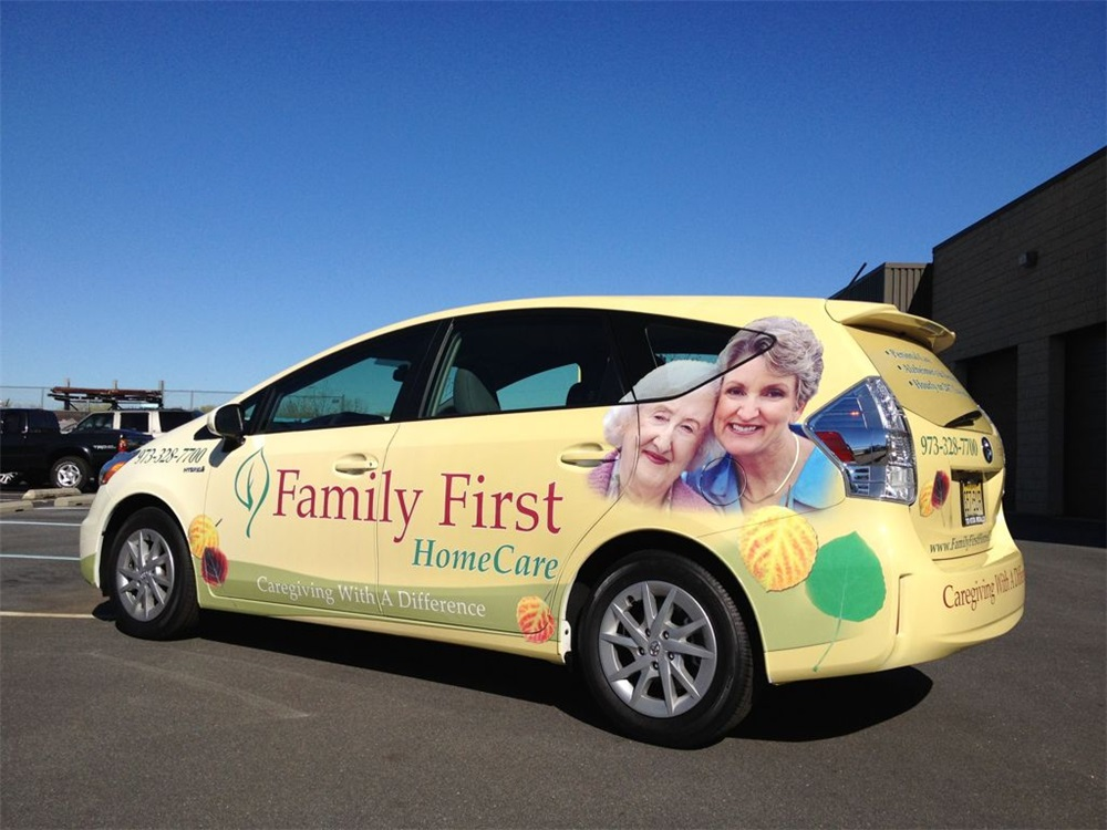 Home Care Vehicle Wraps
