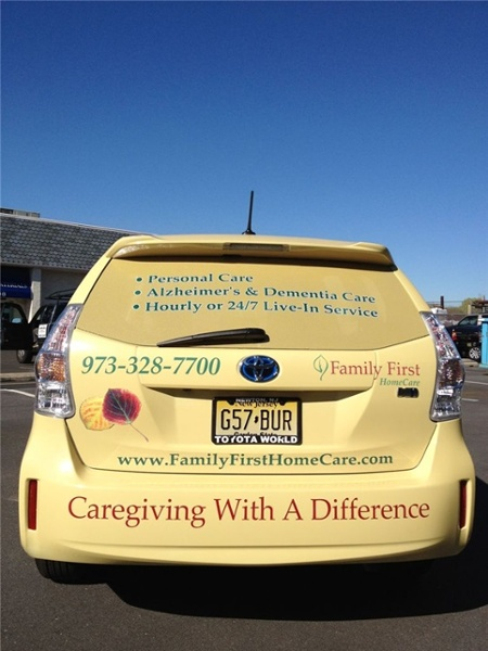 Home Care Vehicle Graphics
