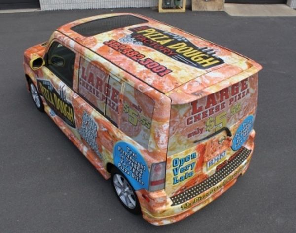 Pizza Delivery Car Full Vehicle Wrap