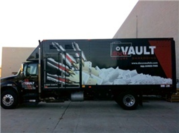 Box Truck Wrap - Full Box Truck Wrap Docuvault