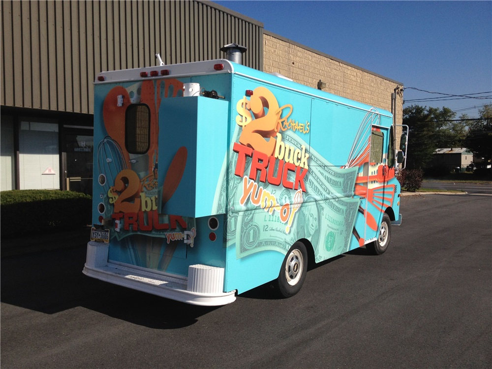 Mobile Food Truck Wraps