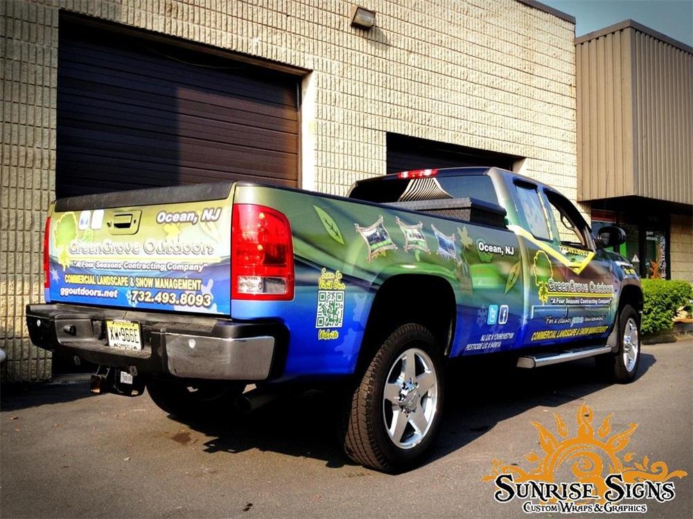 Landscape Truck