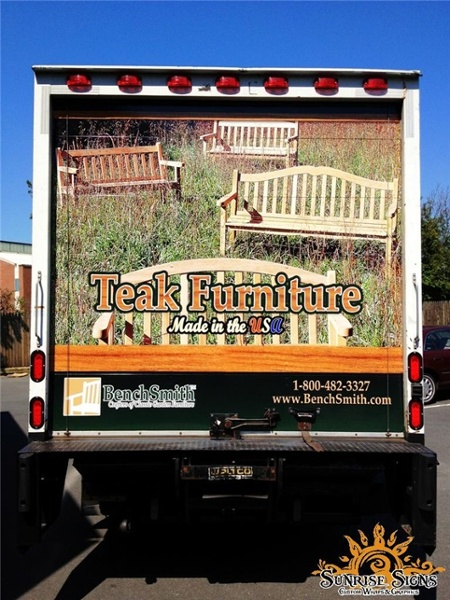 Retail Box Truck Graphics