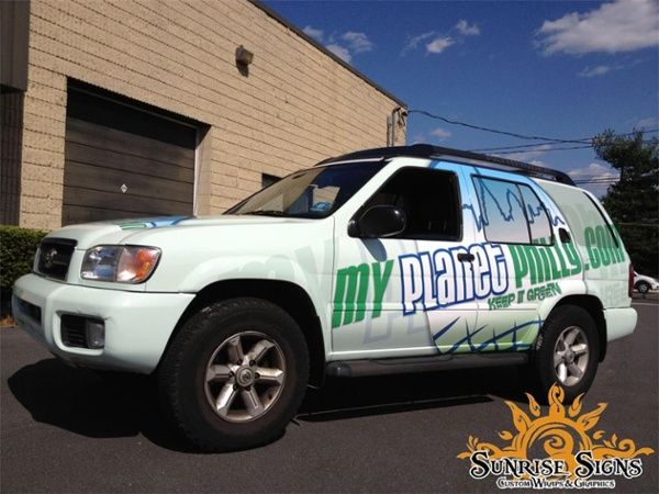SUV Truck Wraps