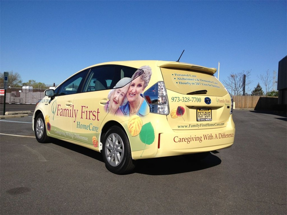 Home Health Care Vehicle Graphics
