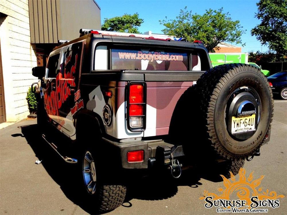 Hummer H2 Truck Wraps