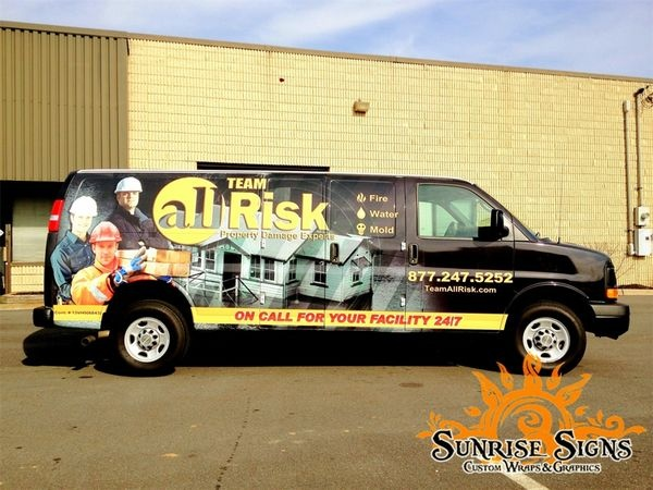 disaster recovery vehicle wraps