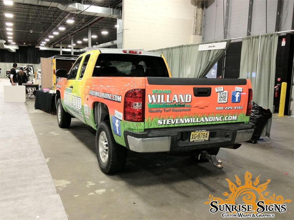Truck Graphics Amp Wraps Idea Gallery Sunrise Signs