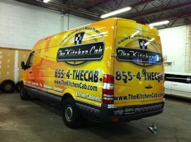 Sprinter Van Wrap - Van Wrap for Contractor