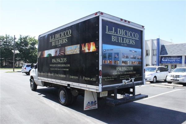 Box Truck Graphics - Box Truck Graphics for contractor