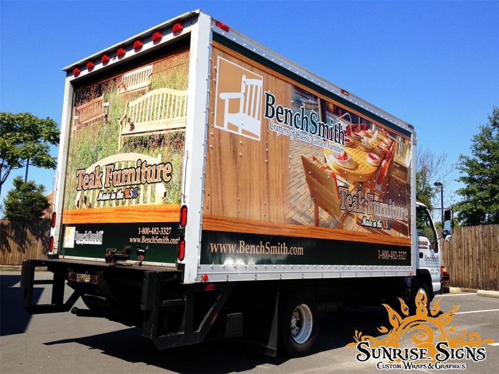Furniture Store Truck Graphics
