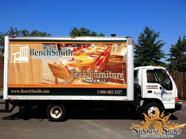 Retail Vehicle Signage Graphics Wraps