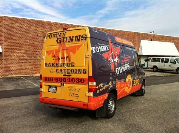 Ford Transit Van Wrap - Full Ford Transit Wrap for bbq restaurant