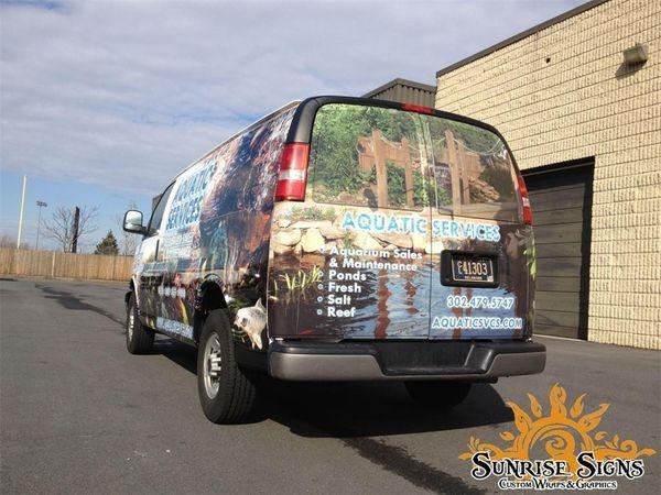 Chevy Express van wraps