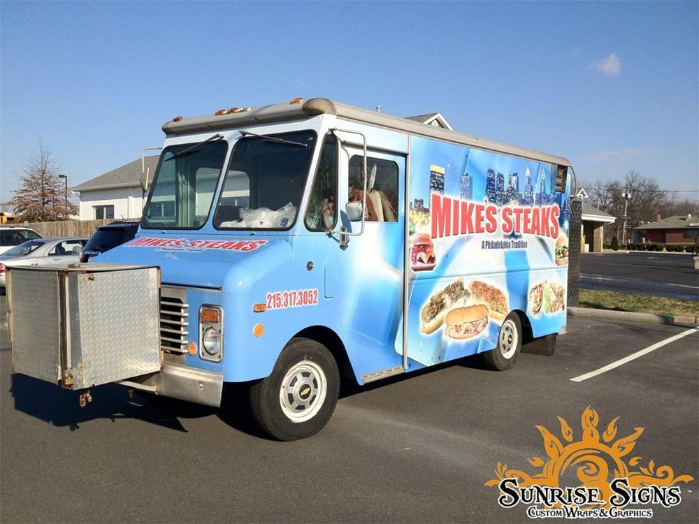 food truck graphics wraps philadelphia