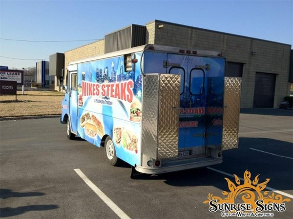 food truck wrap graphics