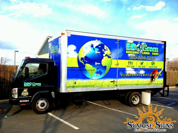 Graphics on Trucks for Advertising