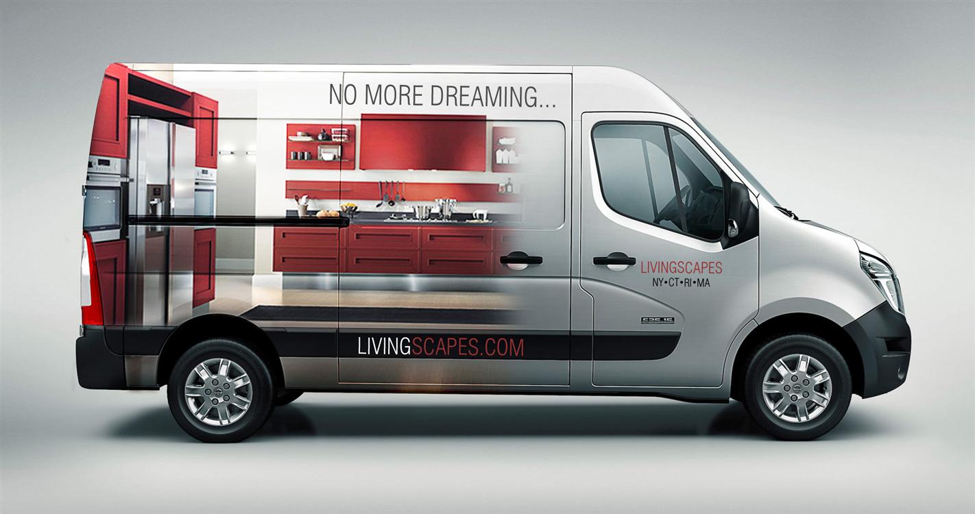 Vinyl Truck Lettering Van Graphics