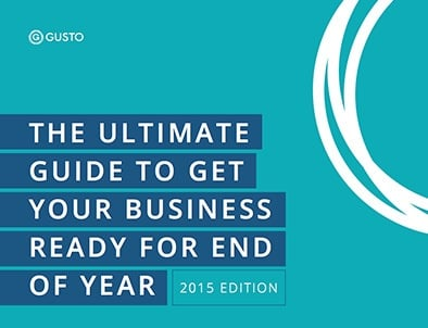 Free Business Year End Checklist