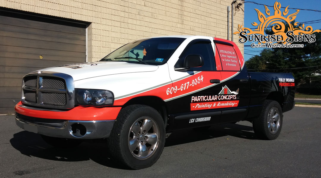 Dodge Ram 1500 Truck Wraps South Jersey