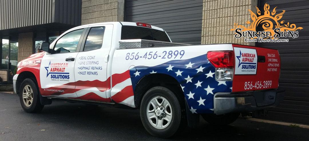 Toyota Tundra Vehicle Graphics South Jersey