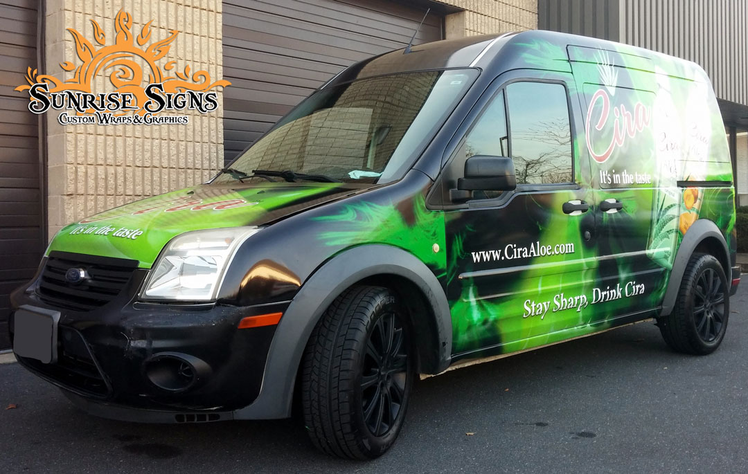 Ford Transit Van Wraps South Jersey